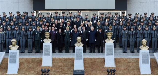 Heroes of independence war commemorated with busts