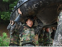 Surprise Land Attack Training...We will defeat this heat wave as well as our enemy! 대표 이미지