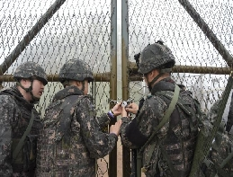 Two Koreas Completed Withdrawal of Troops and Firearms from Guar... 대표 이미지