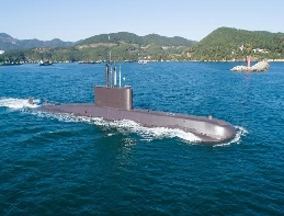 Republic of Korea Navy redeploys Chang Bogo - I class submarine 대표 이미지